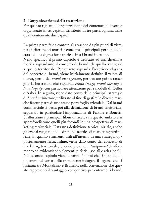 Anteprima della tesi: Strategie di comunicazione e marketing per Montalcino e il suo Brunello, Pagina 4
