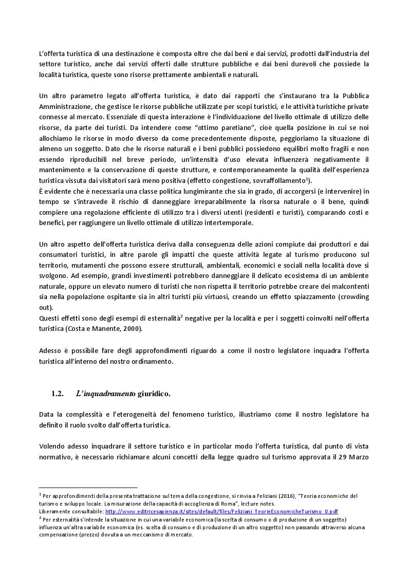 Anteprima della tesi: L'evoluzione dell'offerta turistica italiana negli ultimi 10 anni, con paragoni all'esperienza francese., Pagina 4