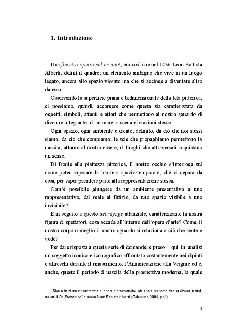 Anteprima della tesi: Annunciazione: lo spazio invisibile, Pagina 2