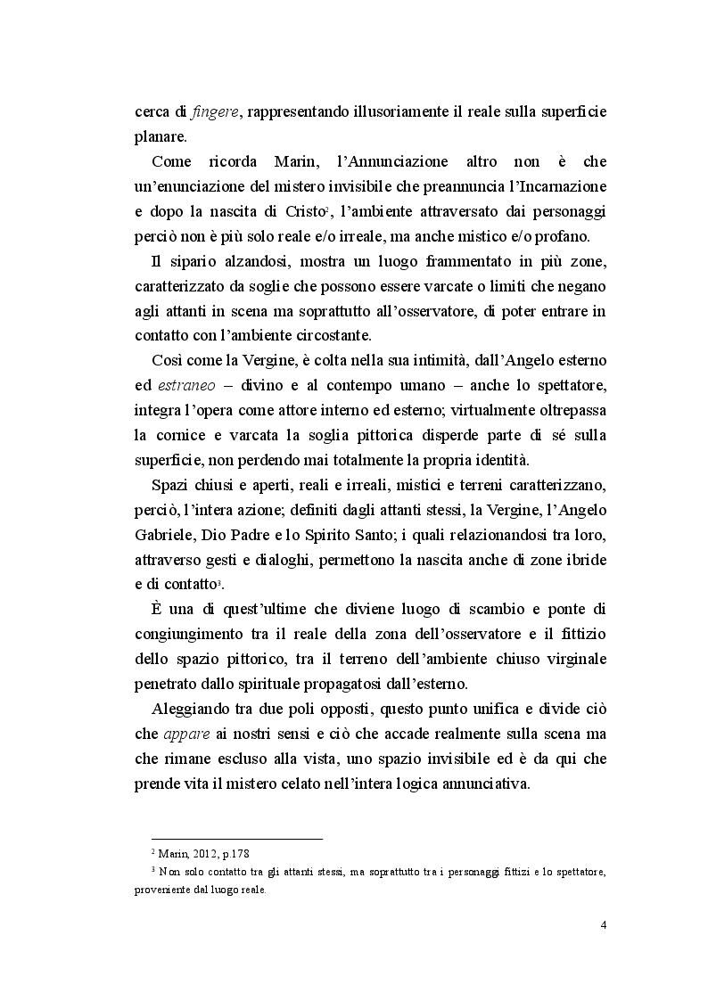 Anteprima della tesi: Annunciazione: lo spazio invisibile, Pagina 3