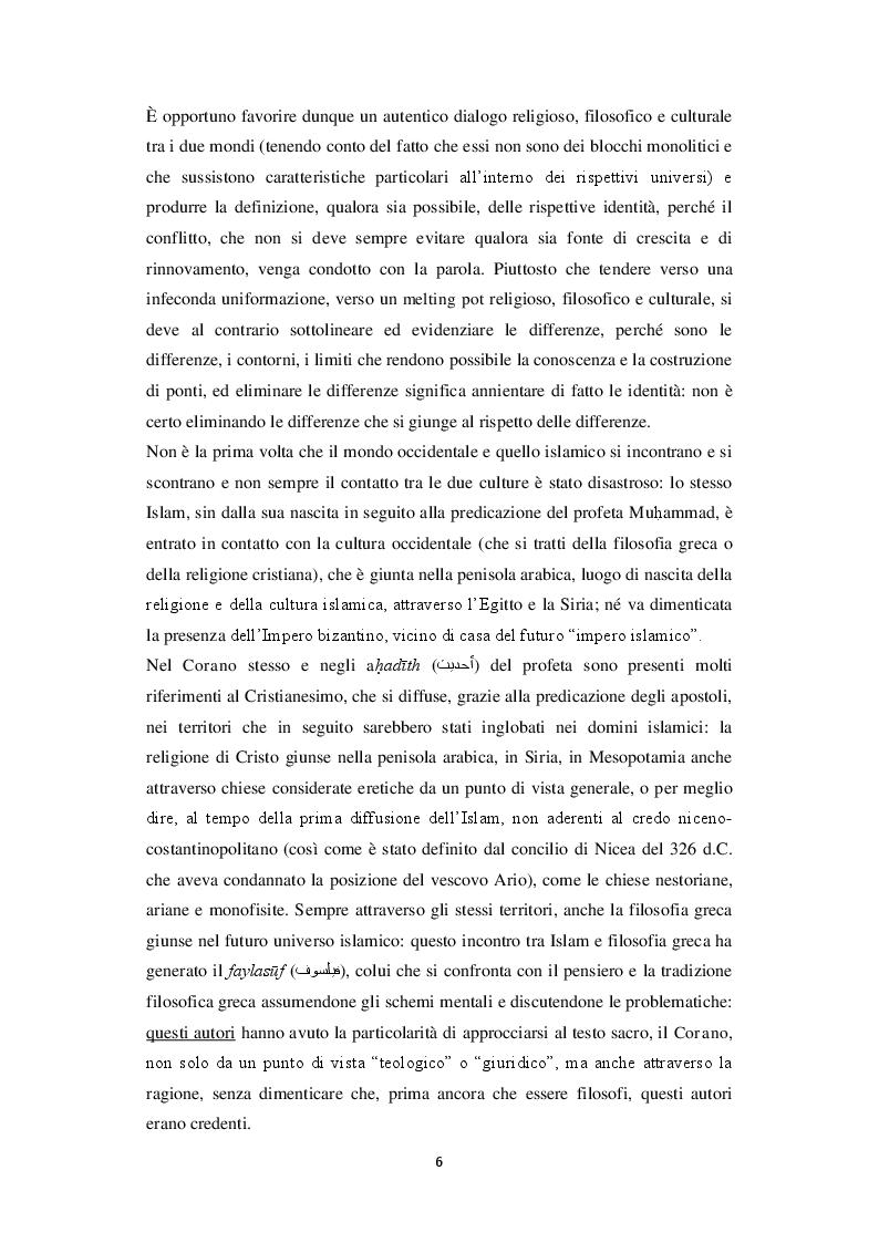 Anteprima della tesi: Unicità di Dio e Trinità nel pensiero islamico e cristiano: un dialogo possibile?, Pagina 3