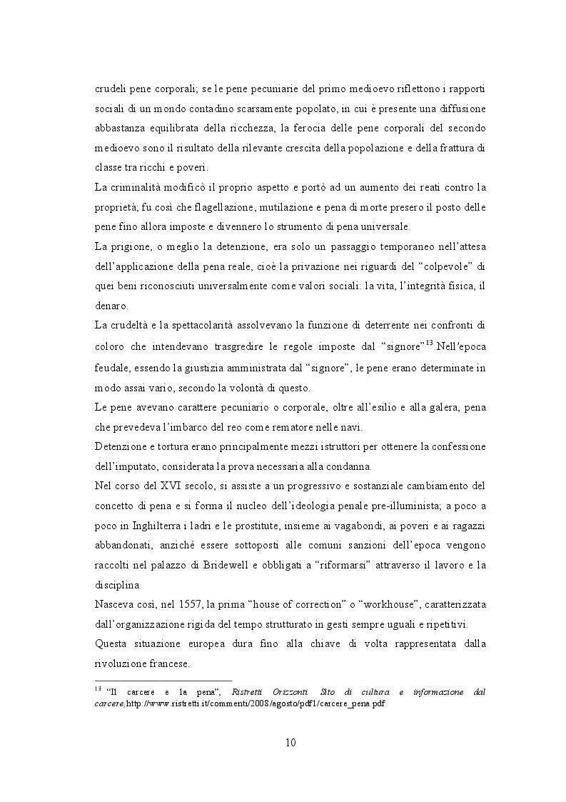 Estratto dalla tesi: Biblioteche carcerarie tra cultura e reinserimento: la biblioteca della casa circondariale di Lecco