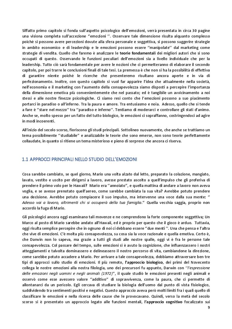 Anteprima della tesi: Marketing ed emozioni, Pagina 4
