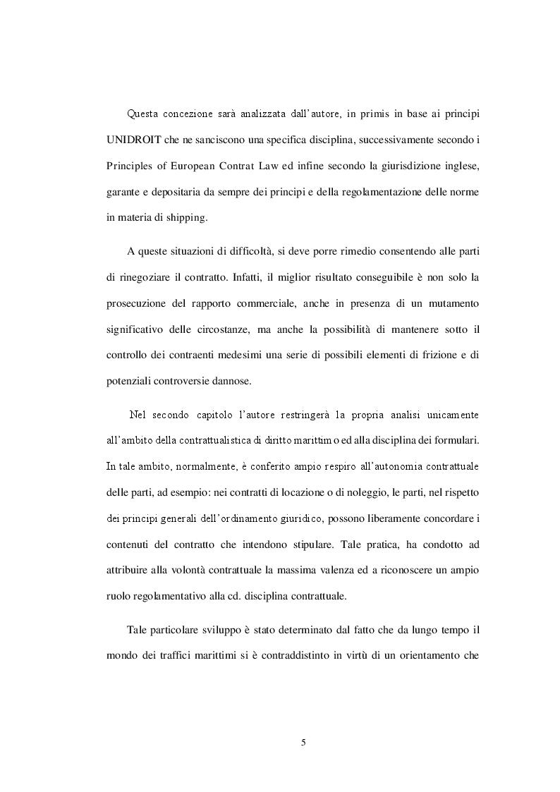 Anteprima della tesi: La crisi dello shipping. Problematiche giuridiche in un mercato in forte distress, Pagina 6