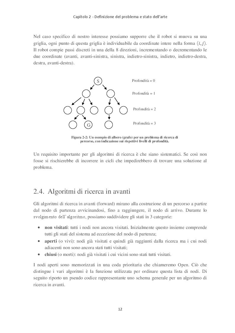 Anteprima della tesi: Path Planning e Sliding Autonomy per robotica mobile in applicazioni spaziali, Pagina 4