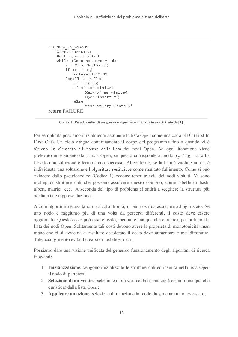 Anteprima della tesi: Path Planning e Sliding Autonomy per robotica mobile in applicazioni spaziali, Pagina 5
