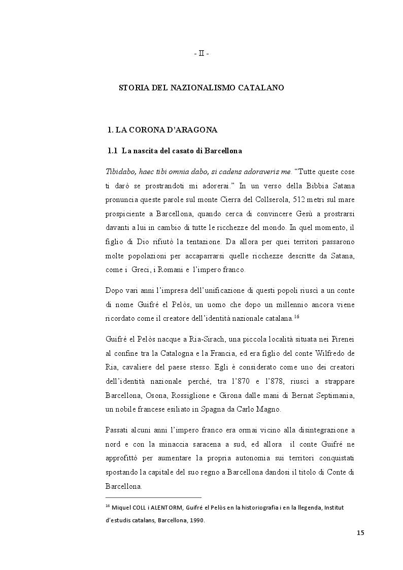 Anteprima della tesi: Catalogna: indipendenza possibile o sogno irrealizzabile?, Pagina 4
