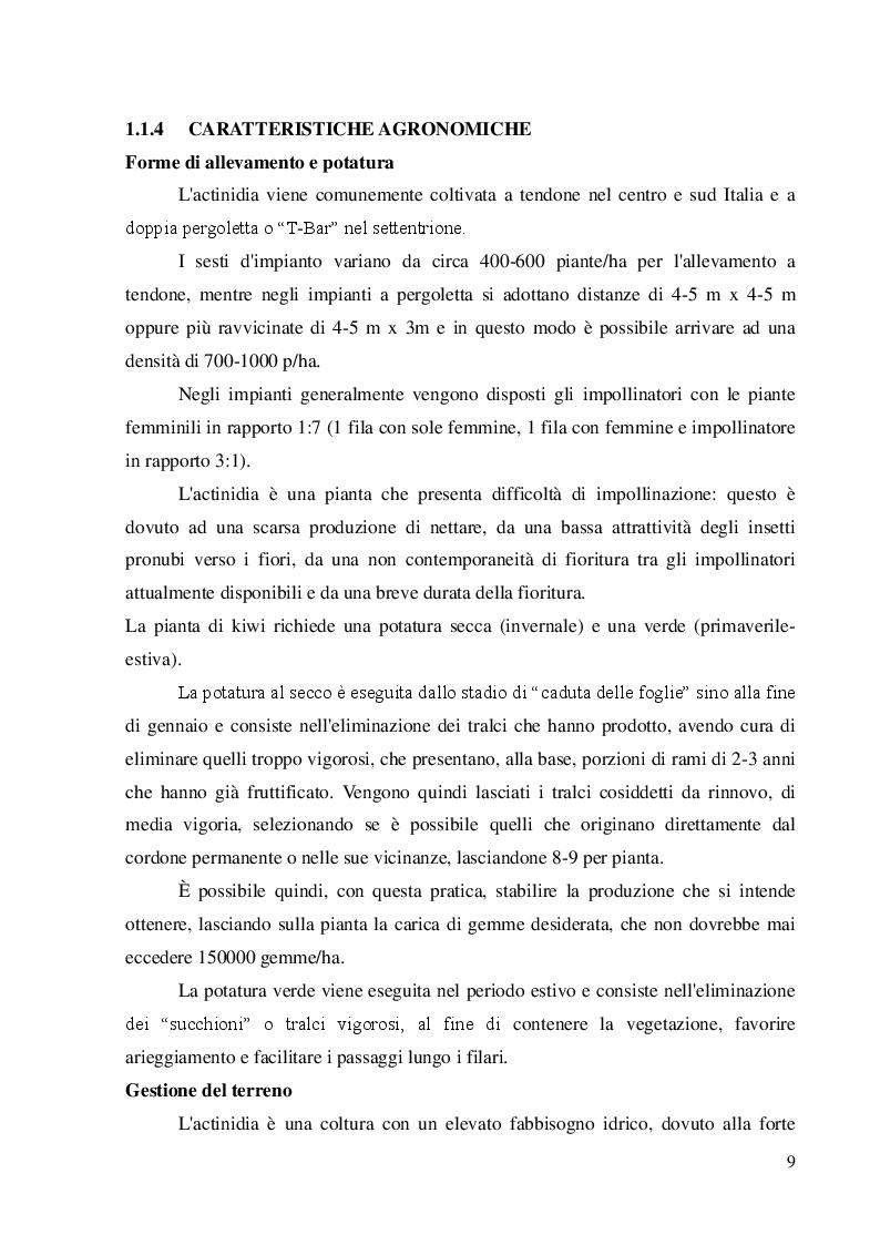 Anteprima della tesi: Strategie innovative per il contenimento di Pseudomonas syringae pv.actinidiae, Pagina 7