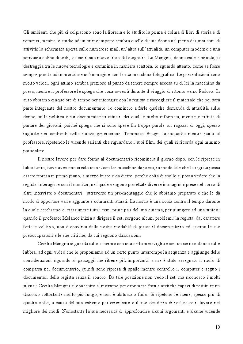 Anteprima della tesi: L'immanenza dell'immagine nell'opera documentaria della regista Cecilia Mangini, Pagina 4