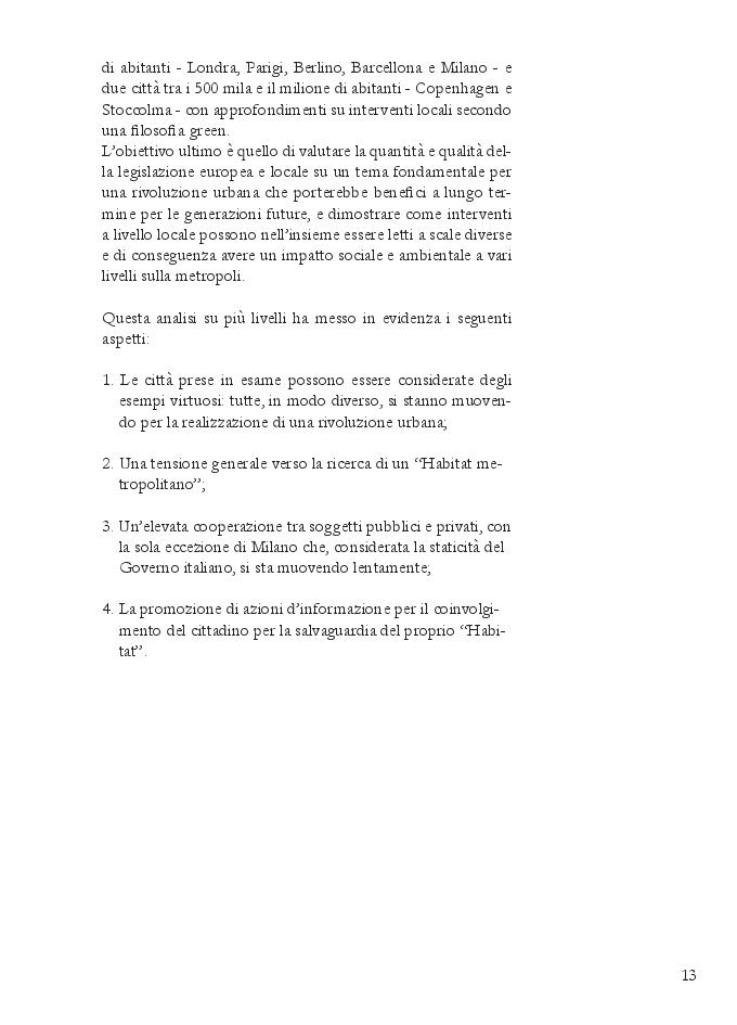 Anteprima della tesi: GREEN POLICY. Le metropoli europee verso il 2050, Pagina 3