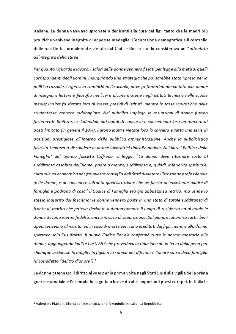 Anteprima della tesi: Gli stereotipi di genere nel mondo delle bambine, Pagina 5