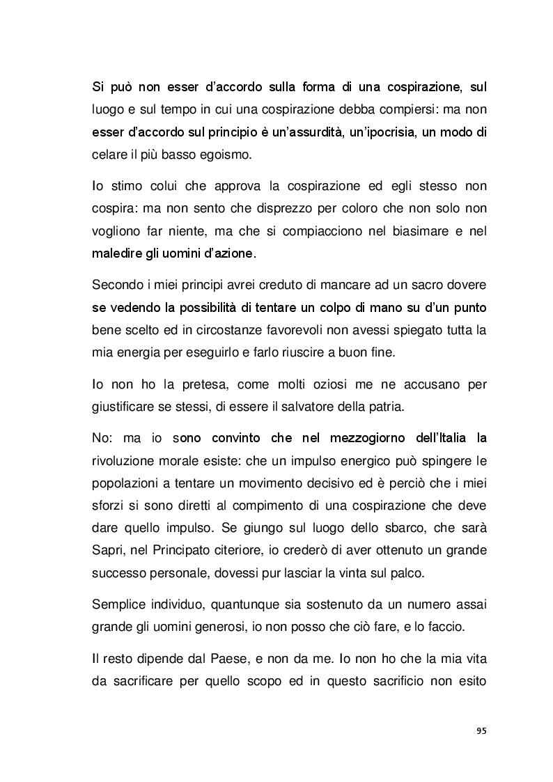 Estratto dalla tesi: Il pensiero politico di Carlo Pisacane