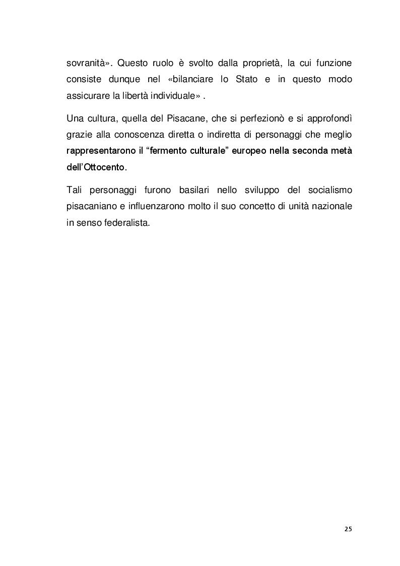 Anteprima della tesi: Il pensiero politico di Carlo Pisacane, Pagina 6