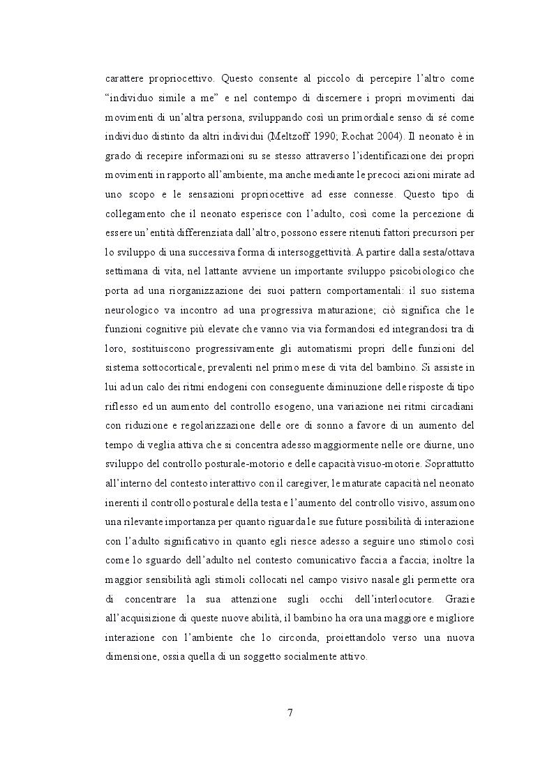 Anteprima della tesi: Depressione post partum materna e paterna : esiti sullo sviluppo emotivo-adattivo del bambino., Pagina 6