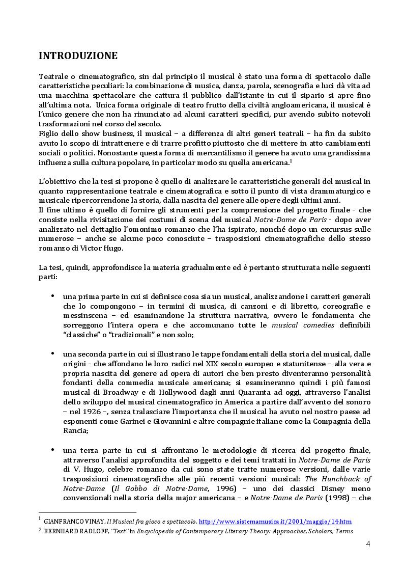 Anteprima della tesi: Notre-Dame de Paris: oltre il musical, Pagina 2