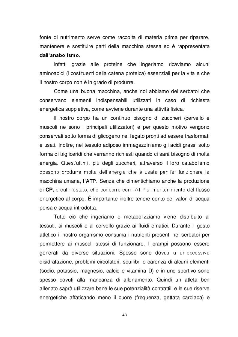Anteprima della tesi: Il Biomeccanico: una nuova figura professionale al servizio del calcio, Pagina 4