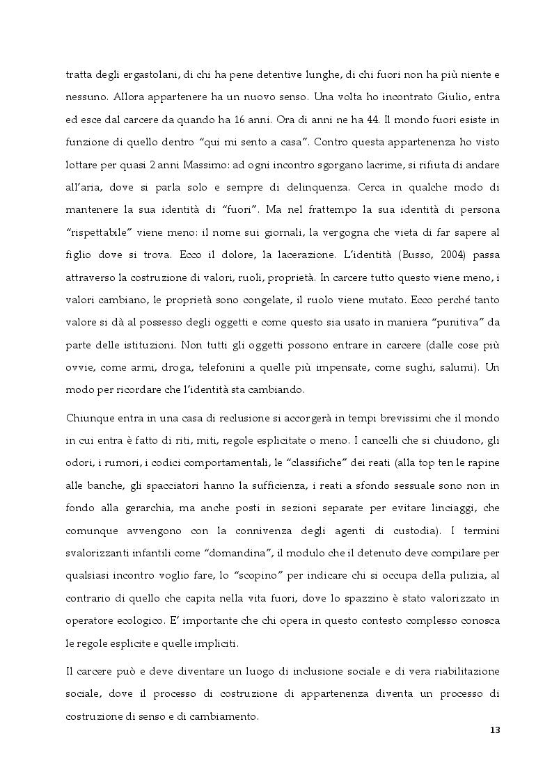 Anteprima della tesi: L'intervento in ambito penitenziario: una sfida per il terapeuta sistemico relazionale, Pagina 5