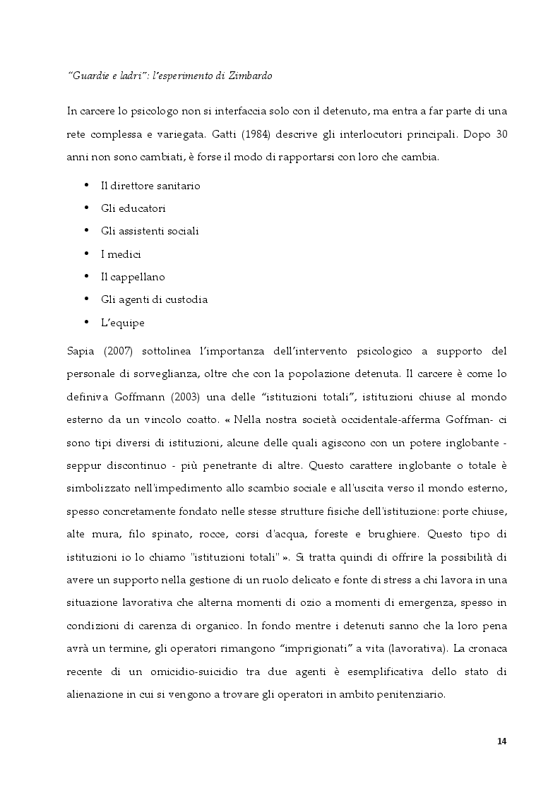 Anteprima della tesi: L'intervento in ambito penitenziario: una sfida per il terapeuta sistemico relazionale, Pagina 6