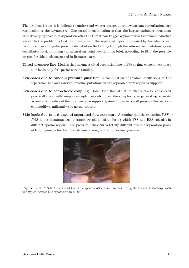 Anteprima della tesi: Detached-Eddy Simulation of Shock Wave/Boundary-Layer Interactions in a Planar Transonic Nozzle, Pagina 10