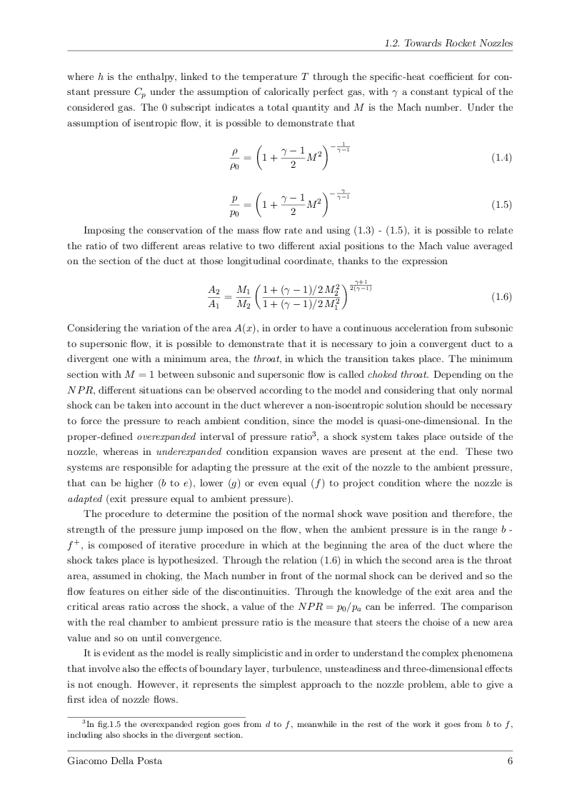 Anteprima della tesi: Detached-Eddy Simulation of Shock Wave/Boundary-Layer Interactions in a Planar Transonic Nozzle, Pagina 7