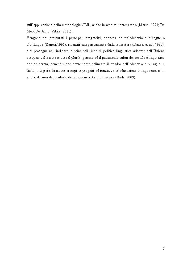 Anteprima della tesi: Crescere bilingui: i vantaggi del bilinguismo tra pregiudizi e strategie educative, Pagina 4
