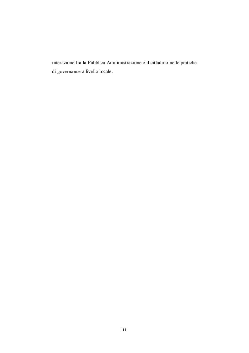 Anteprima della tesi: La nuova governance digitale. Come cambiano le politiche territoriali nell'era del web 2.0., Pagina 10