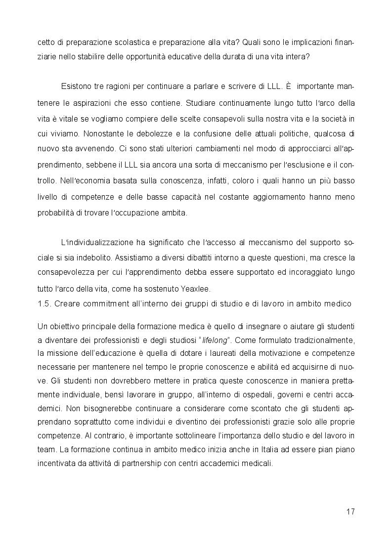 Anteprima della tesi: Medicina narrativa: un nuovo approccio nella formazione degli studenti in medicina presso l'Università degli studi di Milano Bicocca, Pagina 4