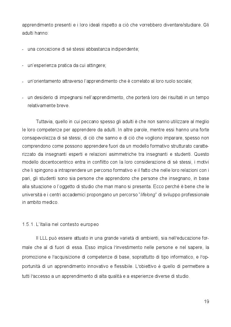 Anteprima della tesi: Medicina narrativa: un nuovo approccio nella formazione degli studenti in medicina presso l'Università degli studi di Milano Bicocca, Pagina 6