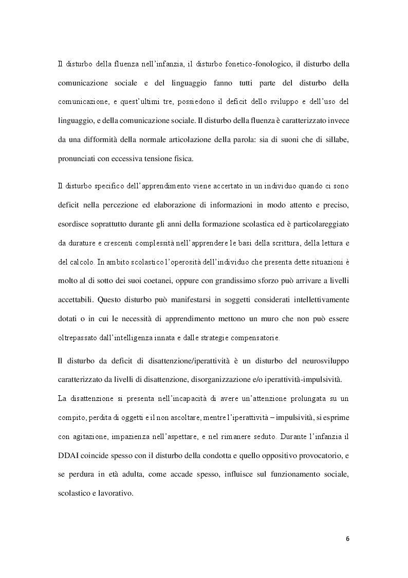 Anteprima della tesi: Il ruolo dell'educatore ed il disturbo da deficit di attenzione/iperattività, Pagina 5