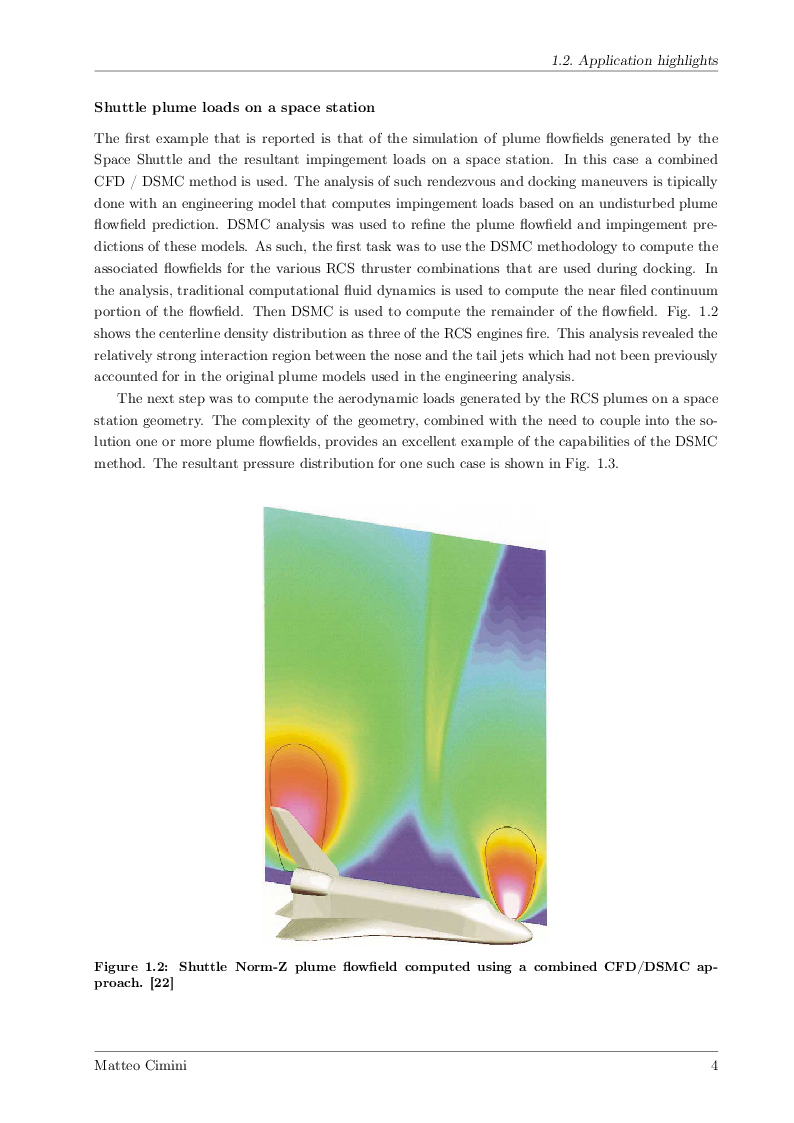 Anteprima della tesi: Numerical Simulations of Rarefied Gas Flow with ''Direct Simulation Monte Carlo'' Method, Pagina 3