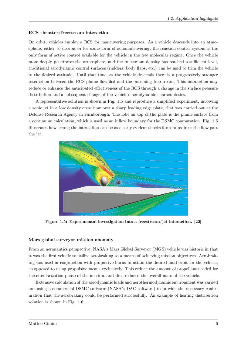 Anteprima della tesi: Numerical Simulations of Rarefied Gas Flow with ''Direct Simulation Monte Carlo'' Method, Pagina 5