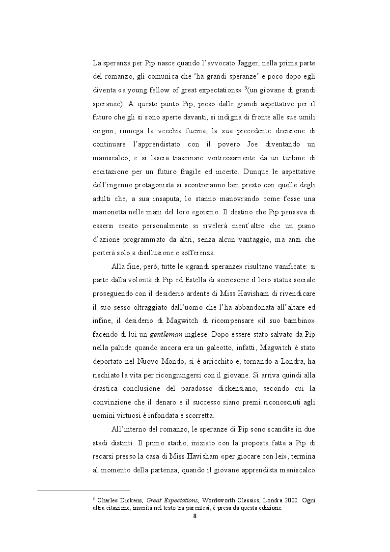 """Estratto dalla tesi: Le riscritture del romanzo di """"Dickens Grandi Speranze: Mister Pip e Jack Maggs"""""""