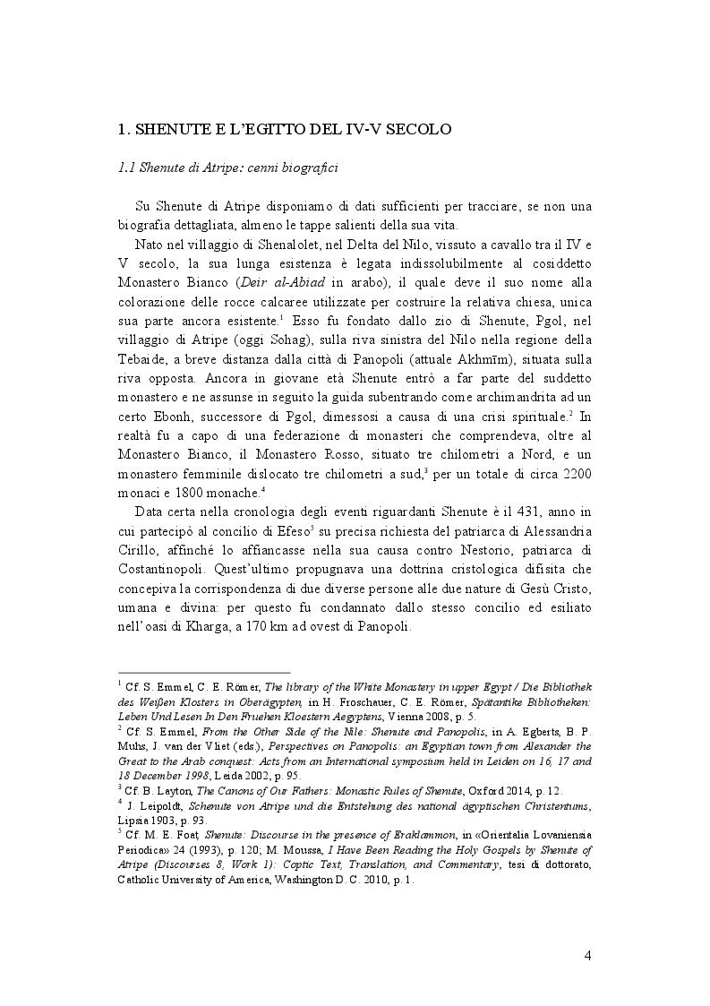 Anteprima della tesi: La demonologia di Shenute, Pagina 4