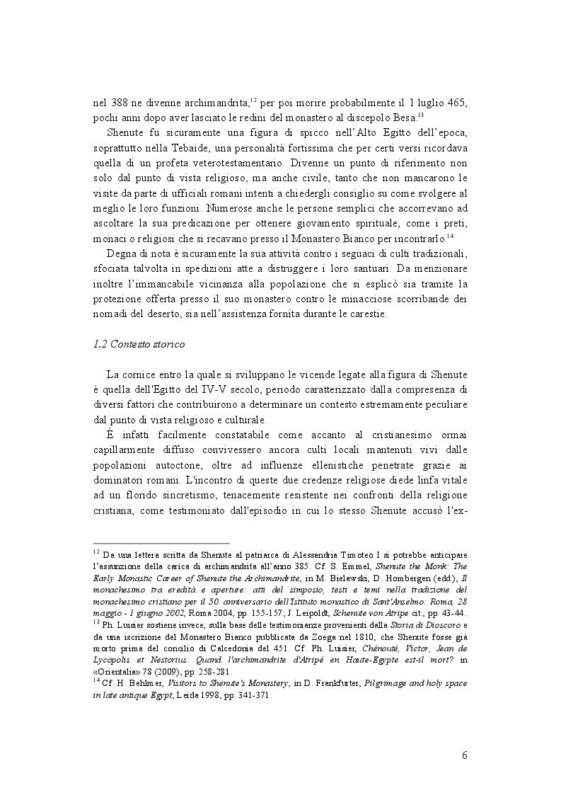 Anteprima della tesi: La demonologia di Shenute, Pagina 6
