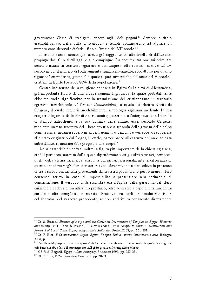 Anteprima della tesi: La demonologia di Shenute, Pagina 7