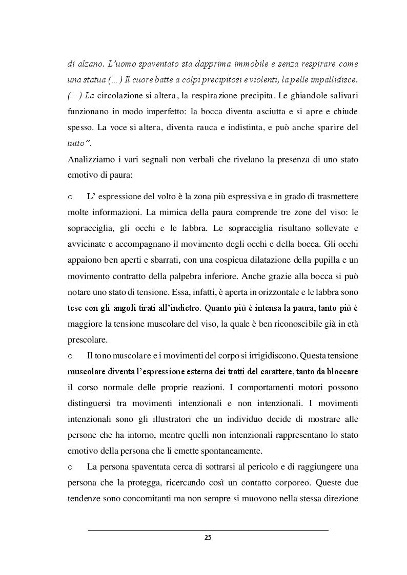 Anteprima della tesi: POSSO AVERE PAURA. Percorso didattico nella scuola dell'infanzia, Pagina 4