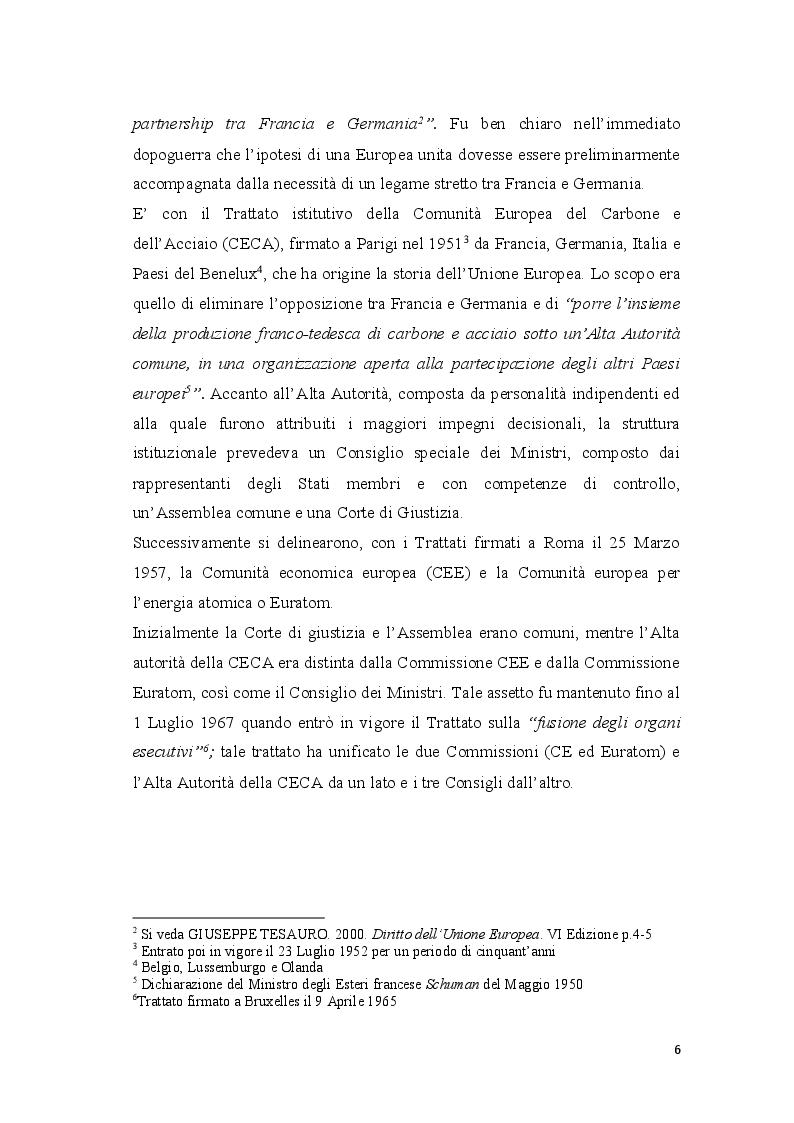 Anteprima della tesi: Coordinamento ed armonizzazione dell'imposizione societaria in seno all'Unione Europea, Pagina 4