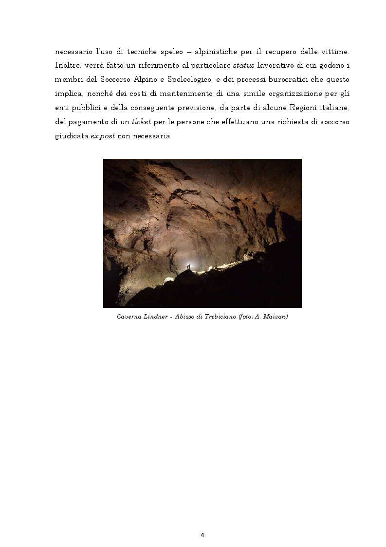 Anteprima della tesi: Il regime giuridico delle grotte, Pagina 5
