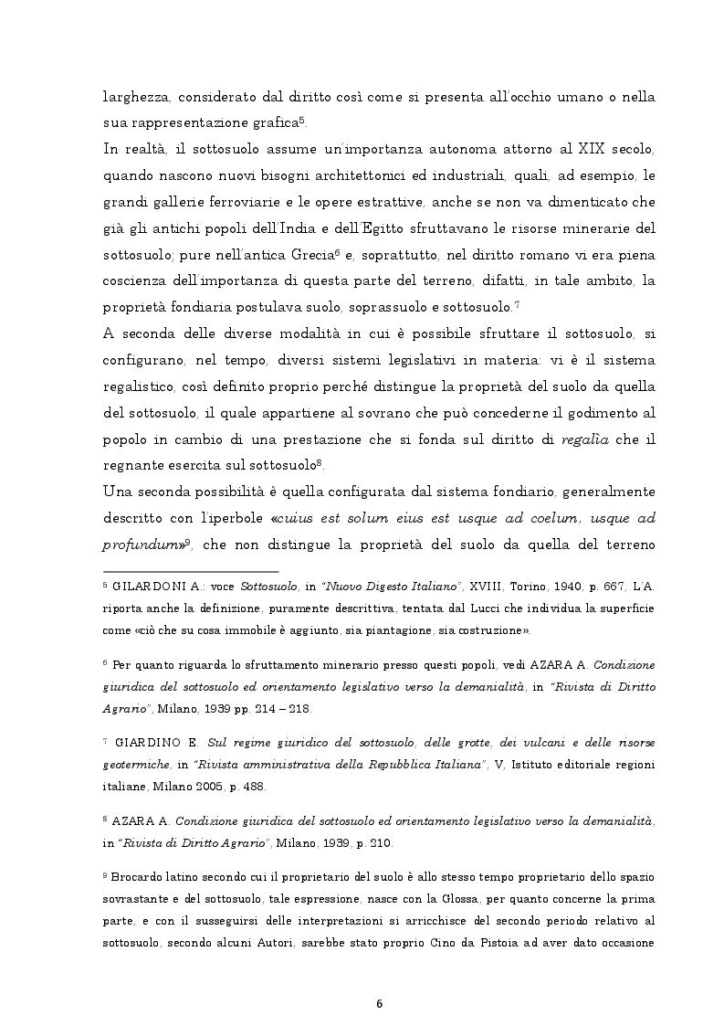 Anteprima della tesi: Il regime giuridico delle grotte, Pagina 7