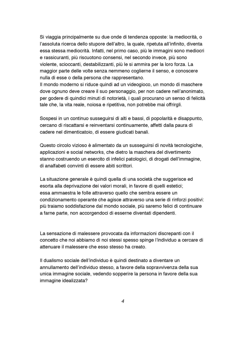 Anteprima della tesi: Indagine sull'inversione di tendenza dell'immagine fotografica da presentazione a rappresentazione del sé, Pagina 4