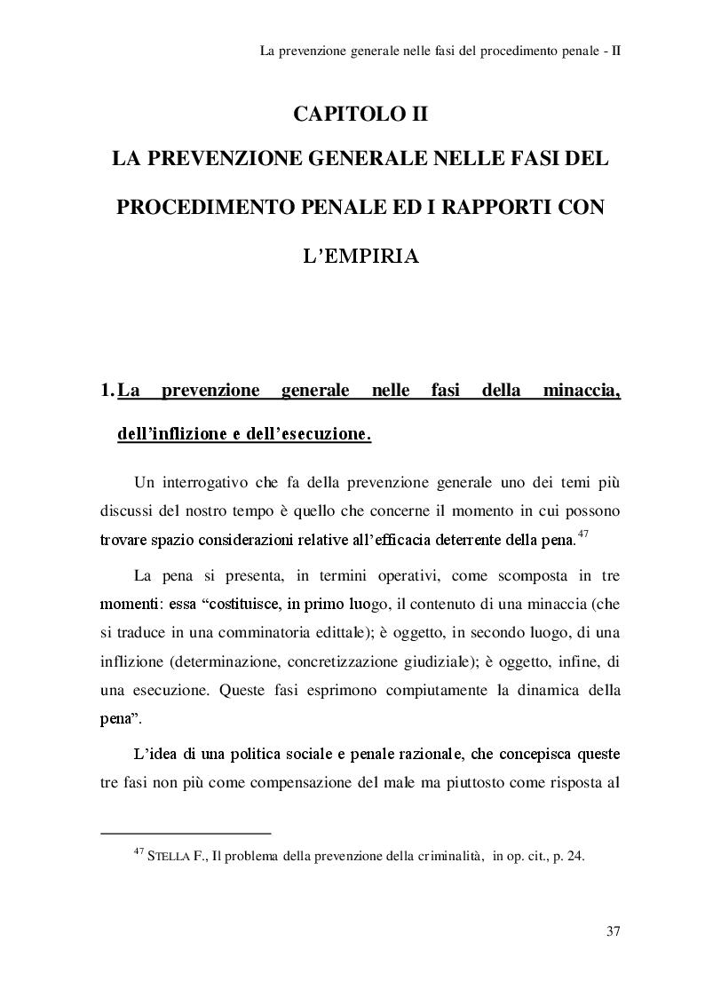 Anteprima della tesi: Riflessioni sulla prevenzione generale, Pagina 2