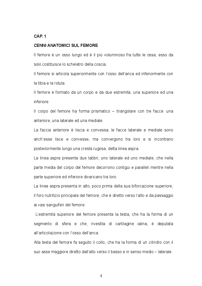 Anteprima della tesi: Assistenza infermieristica al paziente con fratture della diafisi femorale, Pagina 3