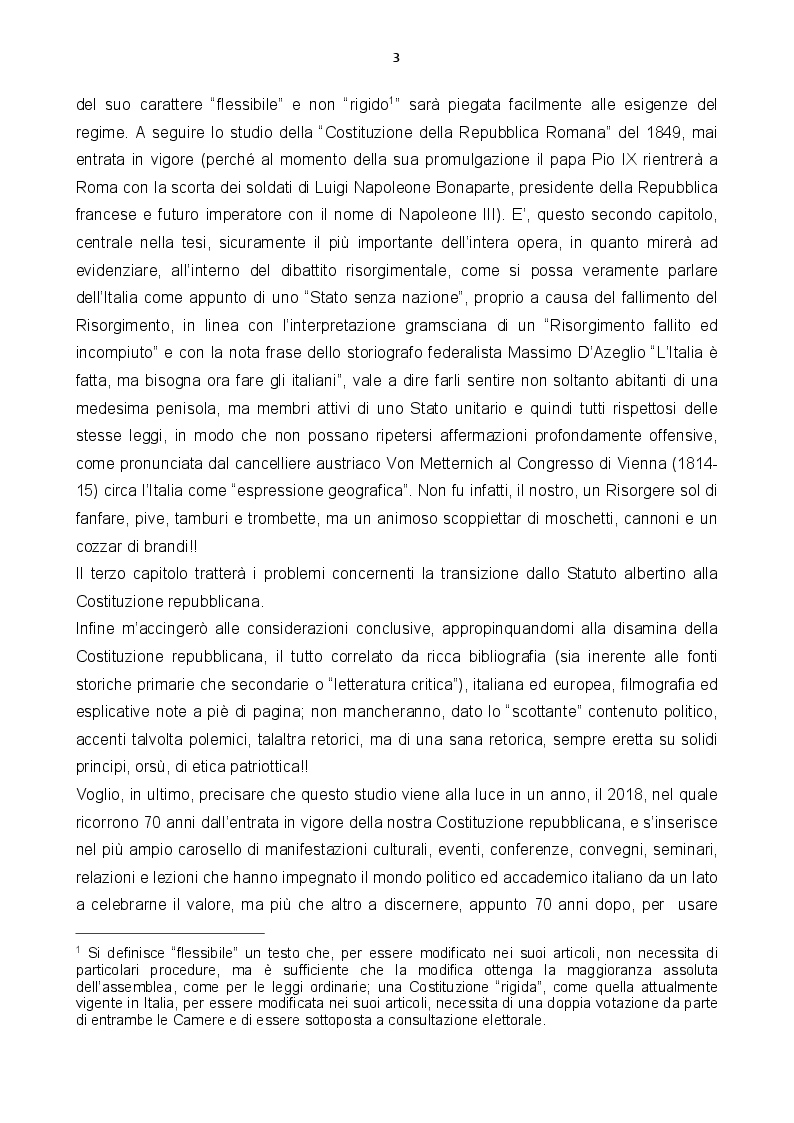 Anteprima della tesi: Stato senza nazione: dibattito su un Risorgimento fallito, Pagina 3