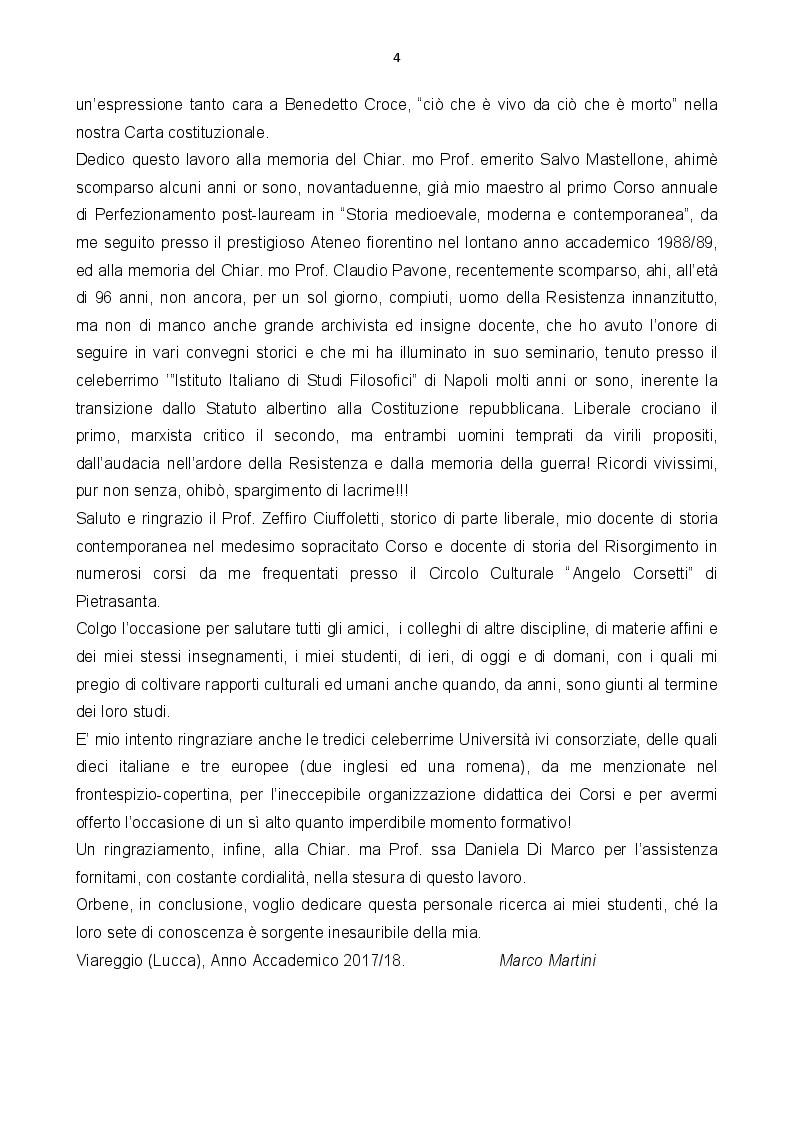 Anteprima della tesi: Stato senza nazione: dibattito su un Risorgimento fallito, Pagina 4