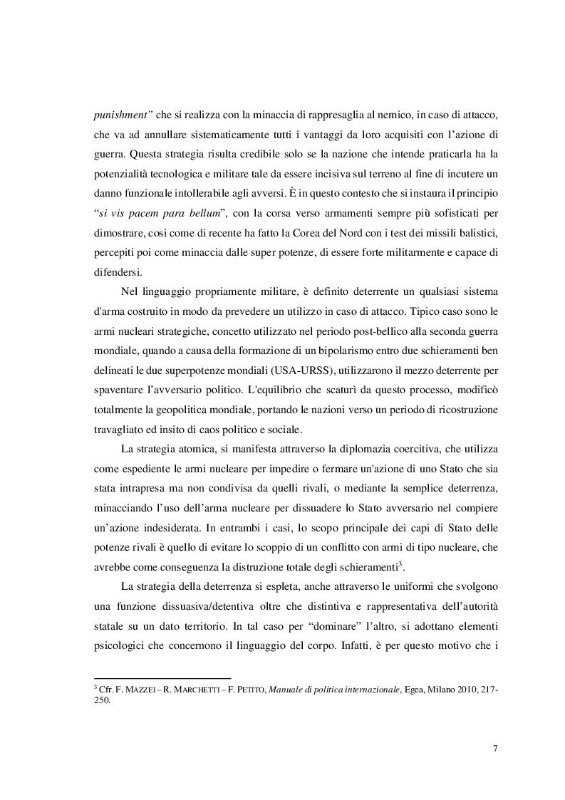 Anteprima della tesi: Missione di Pace, Vangelo di Pace: In divisa per il bene di tutti, Pagina 6