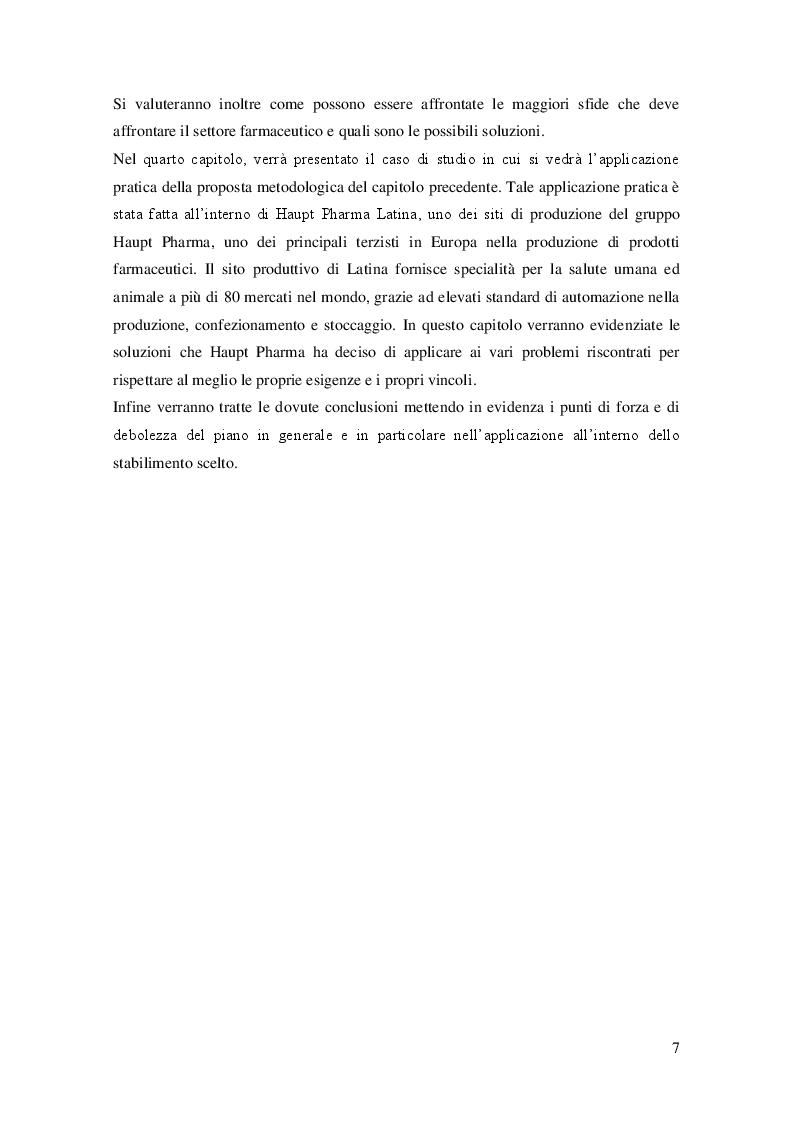 Anteprima della tesi: Sviluppo del Business Continuity Plan nel settore farmaceutico: il caso Haupt Pharma, Pagina 4