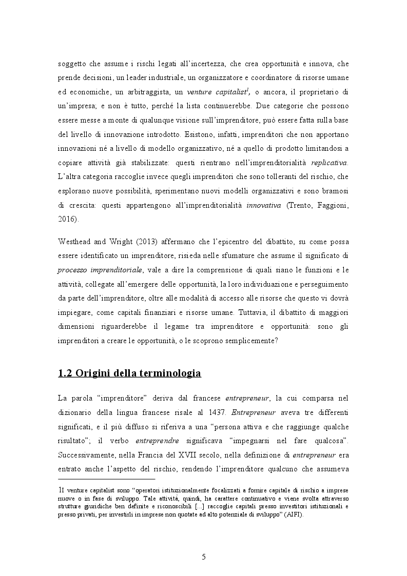 Anteprima della tesi: Gli ecosistemi imprenditoriali e una breve analisi di alcuni ecosistemi italiani, Pagina 5