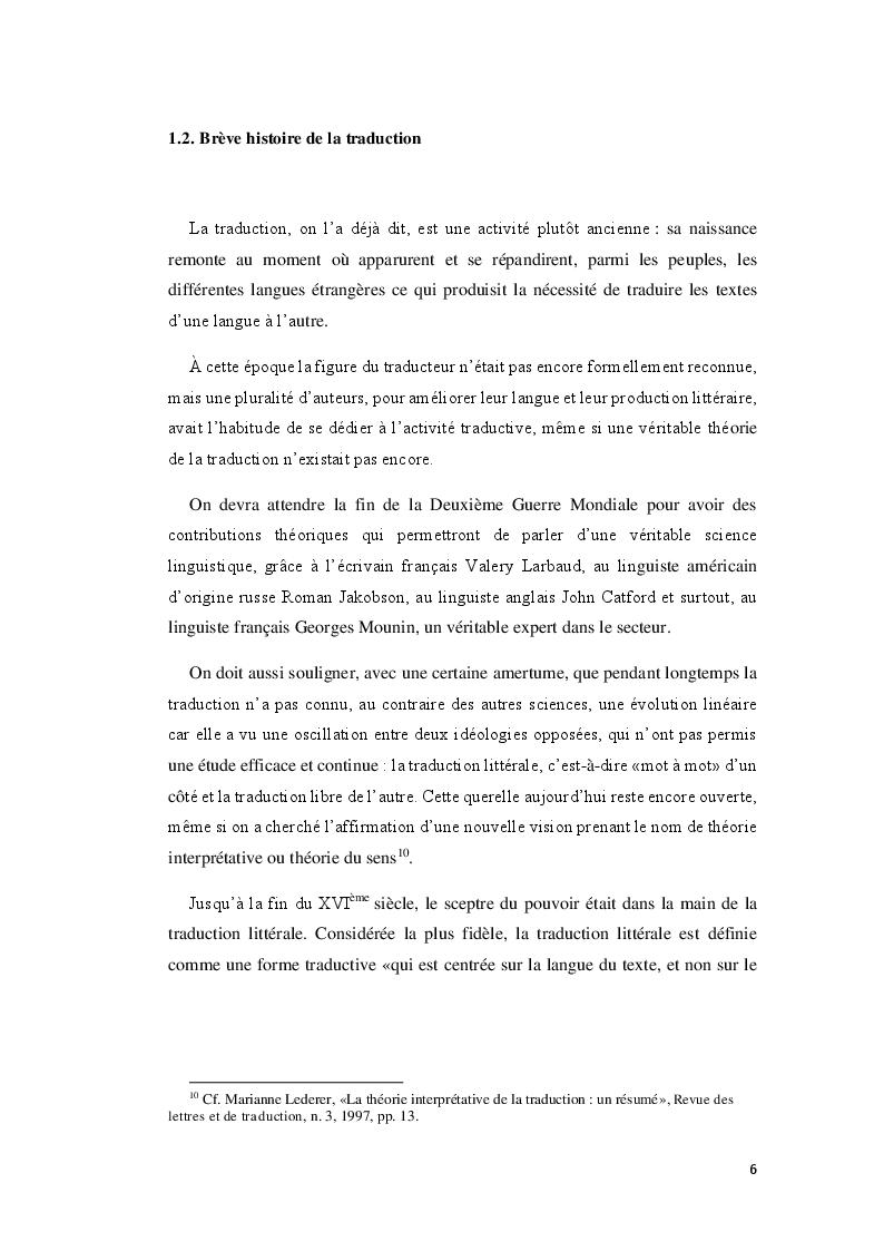 Anteprima della tesi: Boumkoeur de Rachid Djaïdani, traduction et commentaire critique, Pagina 7