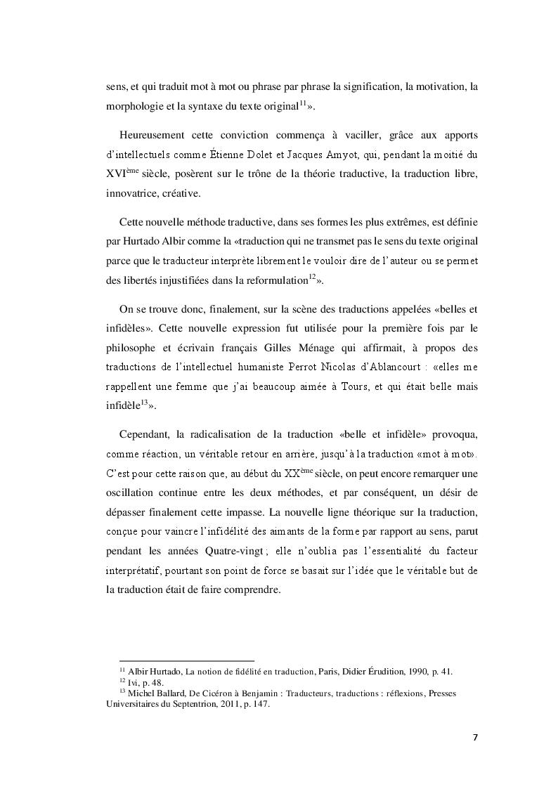 Anteprima della tesi: Boumkoeur de Rachid Djaïdani, traduction et commentaire critique, Pagina 8