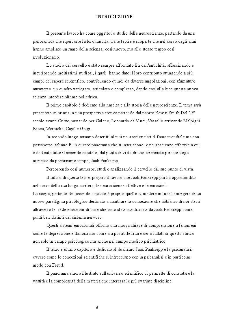 Anteprima della tesi: Jaak Panksepp e le neuroscienze, Pagina 2